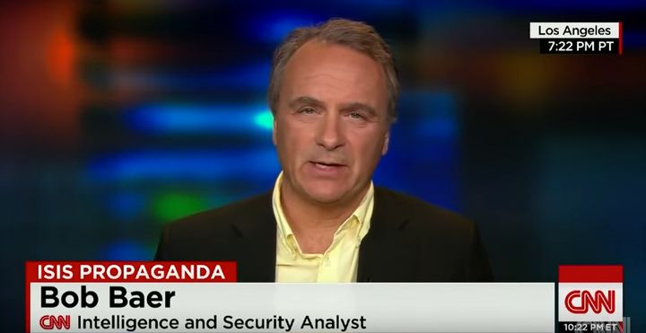 Former CIA case officer Robert Baer, seen on CNN in 2015.