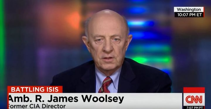 Former CIA director on CNN in February, 2015.
