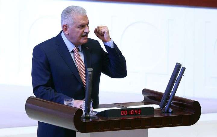 Turkish Prime Minister Binali Yildirim suggests relations will fray with any country that does not help Turkey in the fight a