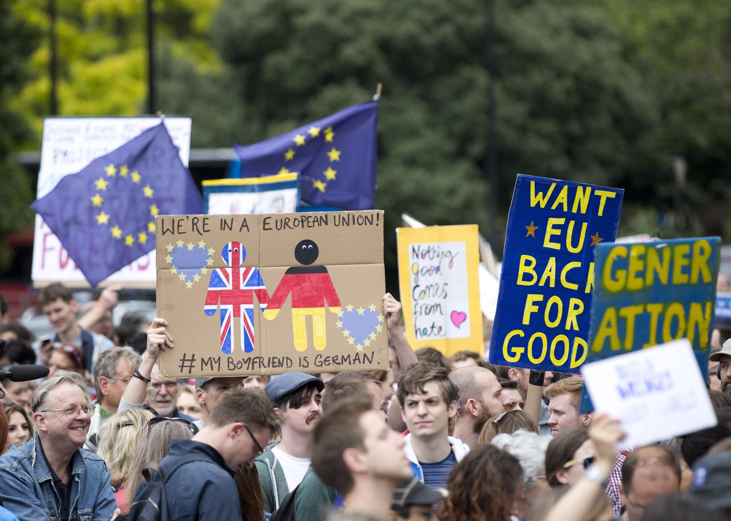 Anti-Brexitprotesterswon't like the results of this new