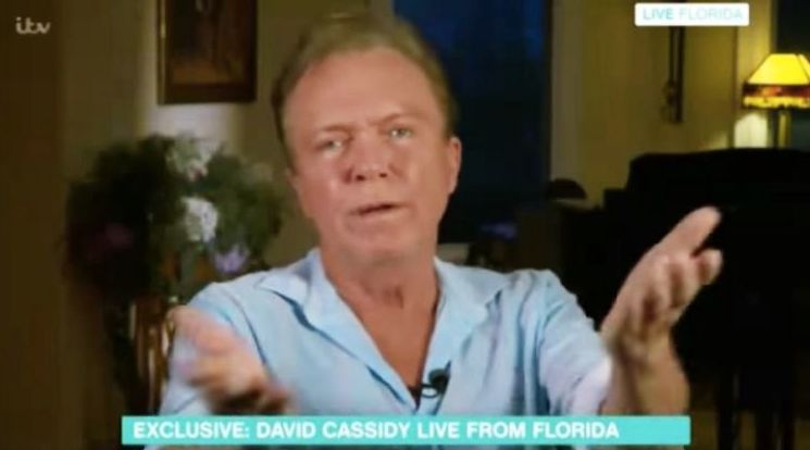 David appeared out of sorts during his live interview with 'This