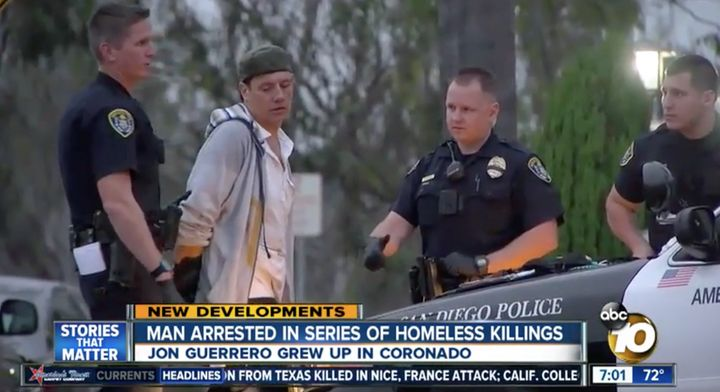 Jon David Guerrero, 39, faces three counts of murder, two counts of attempted murder, and two counts of arson.