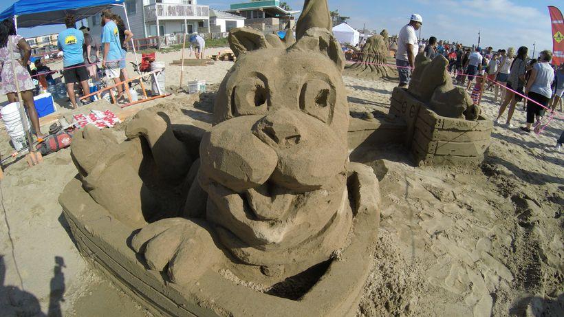 Sun & Sea Sand Castle Festival