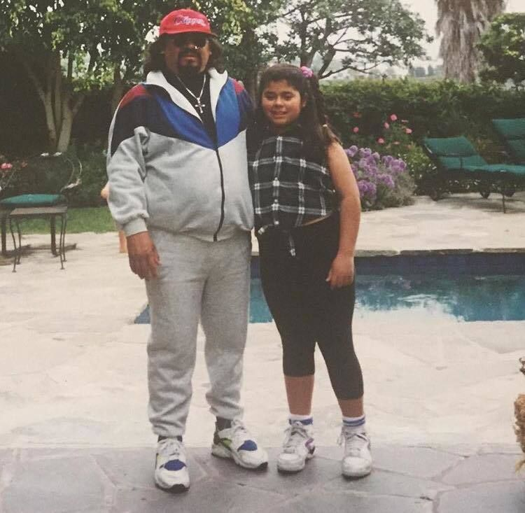 Yesika and her Papi, Jose Elmer Salgado