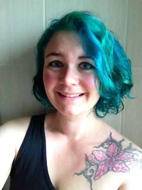Finally...mermaid hair!