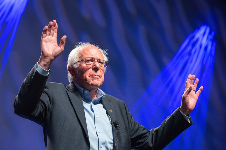 The Netroots Nation conference in 2015 featured Sen. Bernie Sanders (I-Vt.) and a number of presidential candidates.Thi