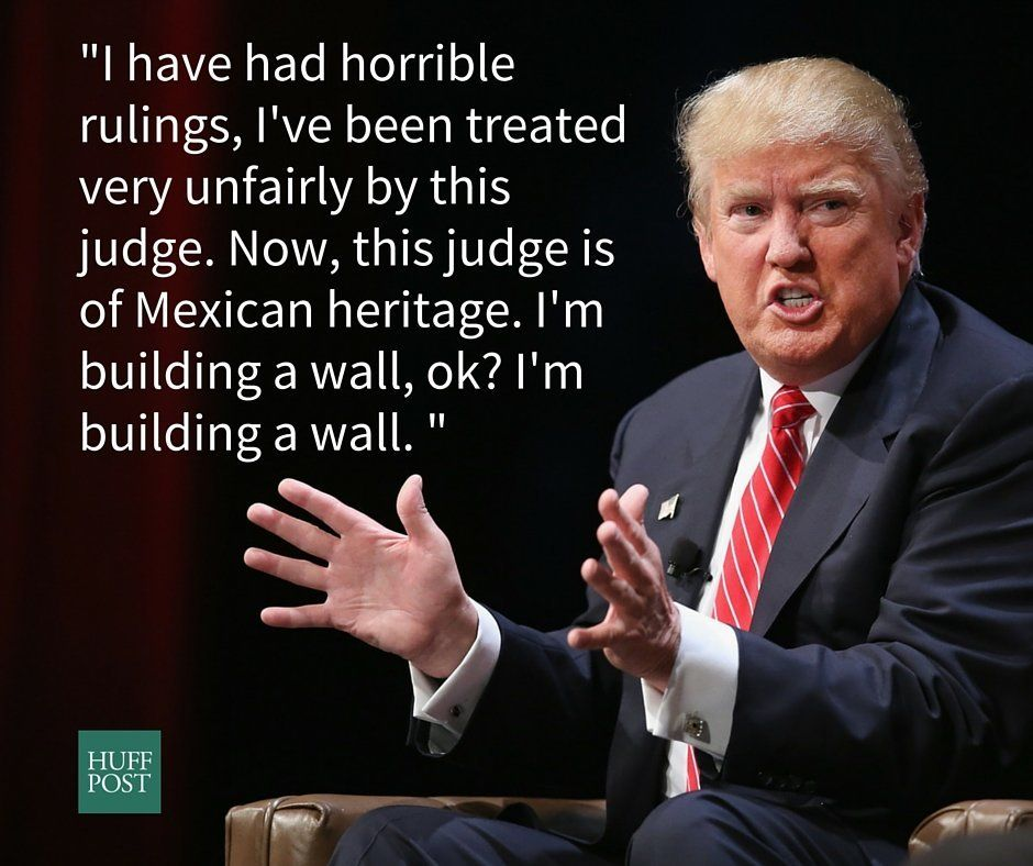 """In an interview with The Wall Street Journal, Trump <a href=""""http://www.huffingtonpost.com/entry/donald-trump-mexicans_us_575"""