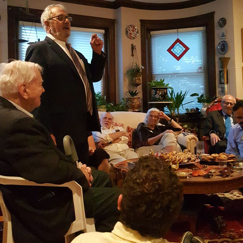 "Barney Frank addresses JALSA event ""Babkas with Barney"""