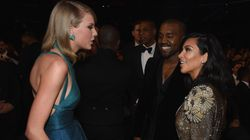 Kim Kardashian And Kanye West Are Feuding With Taylor Swift