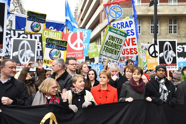 Campaigners, including the SNP, have fought against Trident