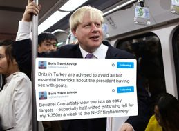 This Twitter Account Is Offering Up Travel Advice In The Style Of Boris Johnson