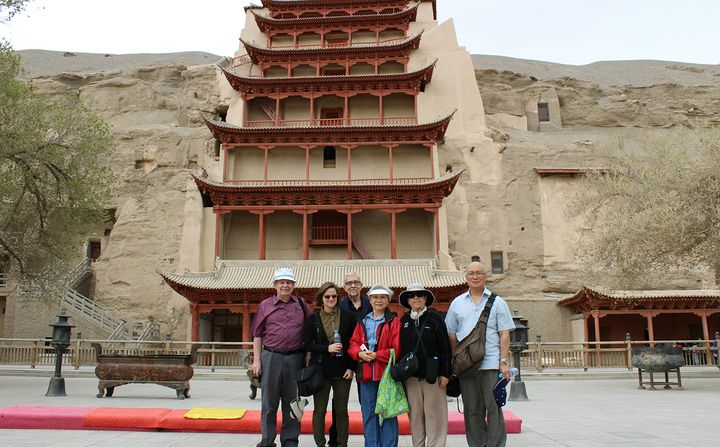 Mogao Caves in China