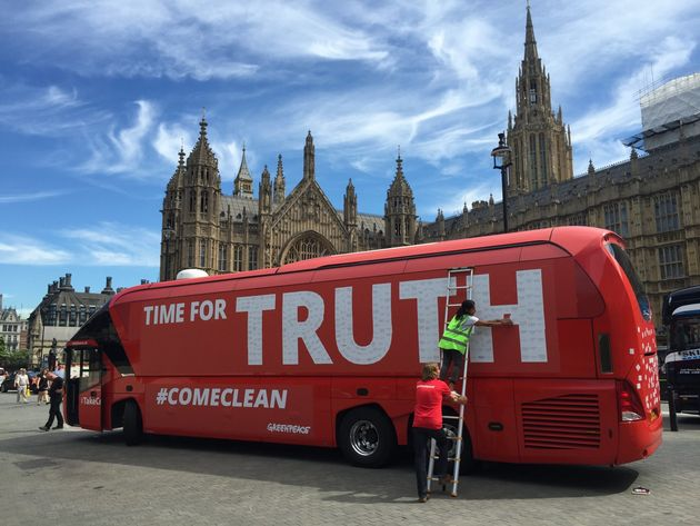 Greenpeace called for Brexit MPs to 'come