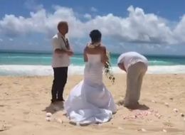 Groom Vomits During Wedding Vows As Bride Says 'In Sickness And In Health'