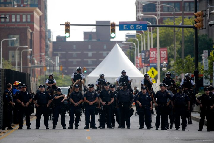 Cleveland police recently received training on dealing with the media at the GOP convention.
