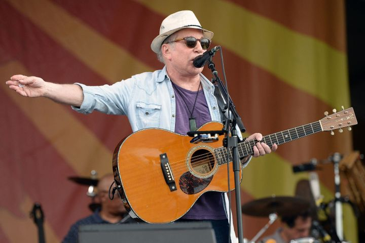 inger Paul Simon performs onstage at the New Orleans Jazz & Heritage Festival at Fair Grounds Race Course on April 29, 20