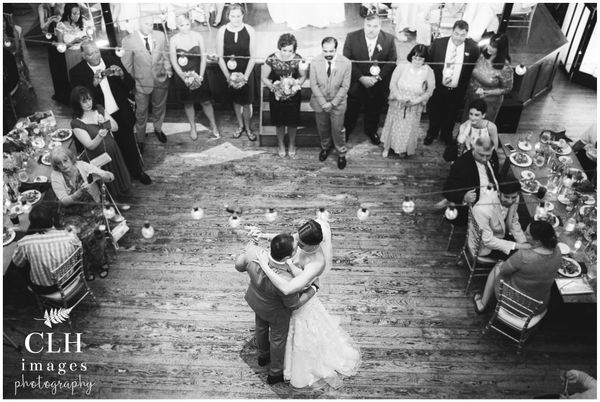 """""""Kim and Chris's wedding at Revolution Hall in Troy, New York --<i>Carrie Lynn Holligan Smith</i>"""