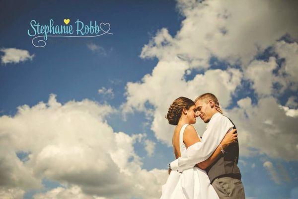 """Emily and Ryan Wolfe were married Saturday in Findlay, Ohio."" --<i>Jennifer Spinosi</i>"