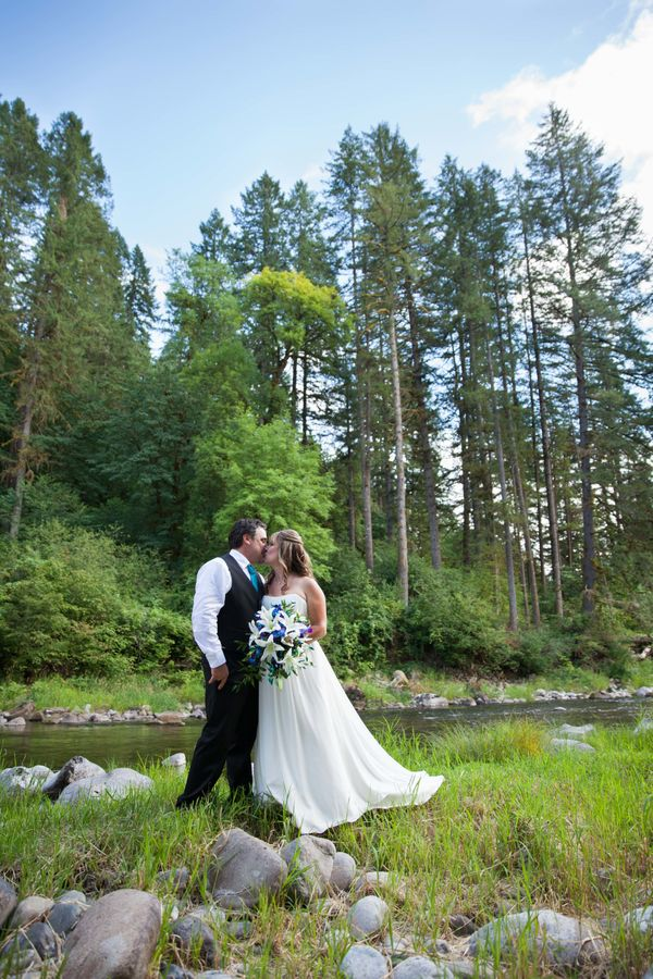 """""""Congratulations to Michael and Michelle who were married at their amazing home in Battle Ground, Washington! Here's to a lif"""