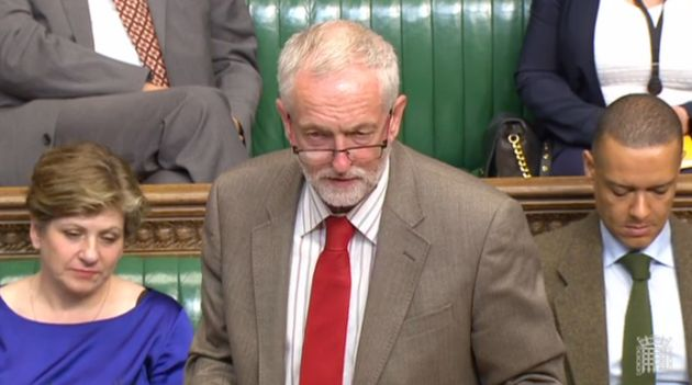 Jeremy Corbyn Tells MPs He Would Never Launch UK's Nuclear