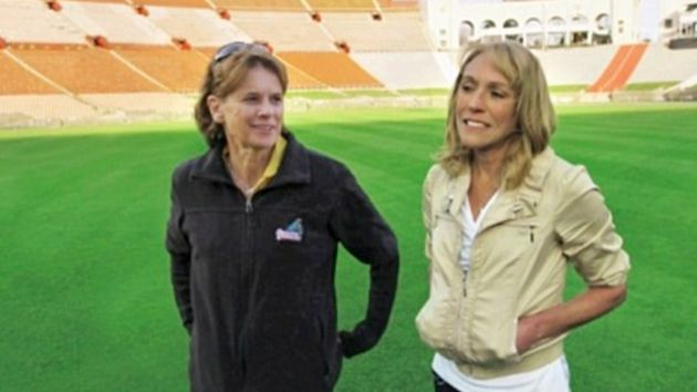 Zola and Mary are reunited at the same stadium more than 30 years