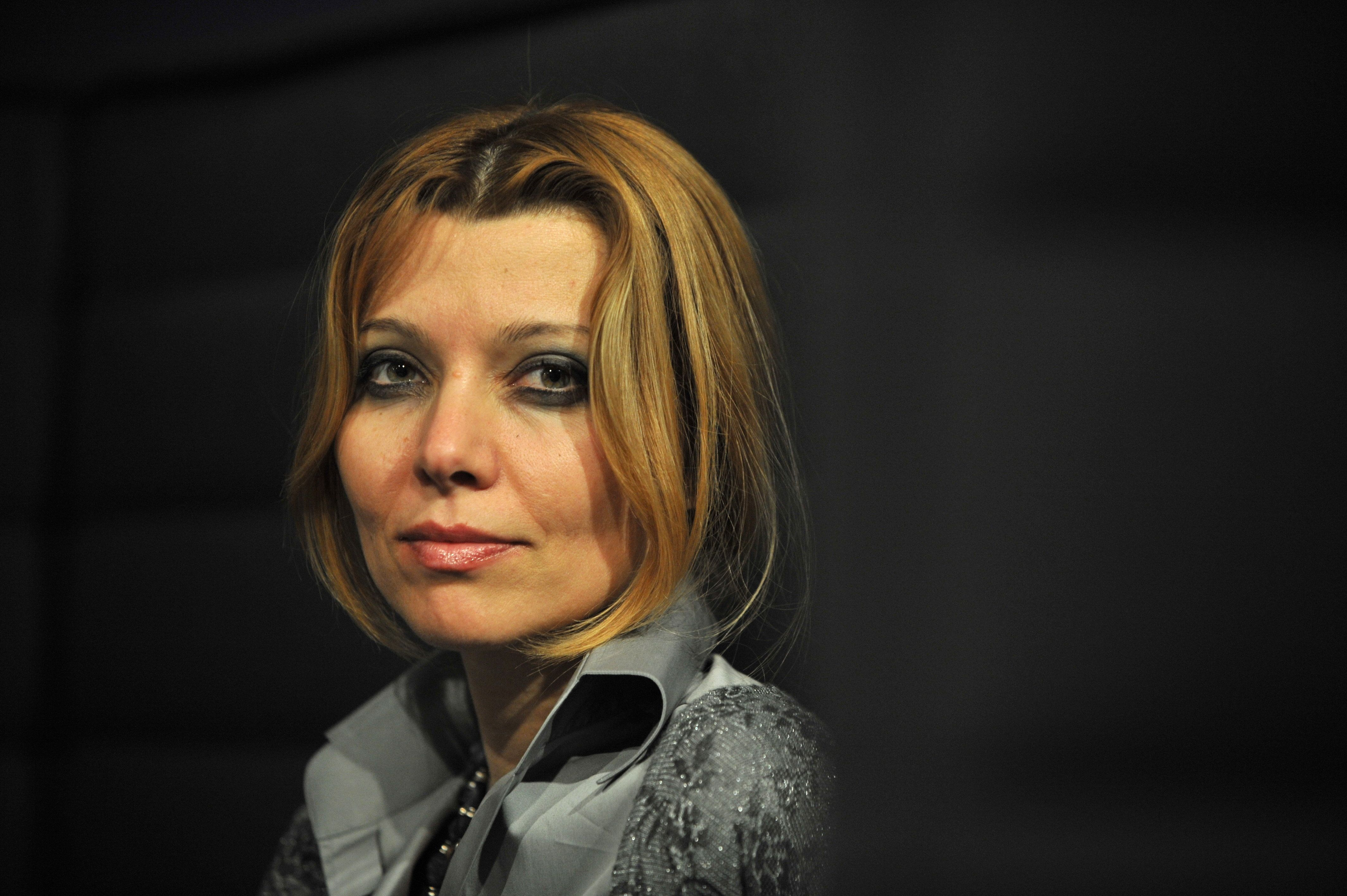 Turkish writer Elif shafak, author of 'Black Milk' poses during the  5th edition of the Women's Forum at the Deauville International Center on October 16, 2009.  AFP PHOTO MYCHELE DANIAU (Photo credit should read MYCHELE DANIAU/AFP/Getty Images)