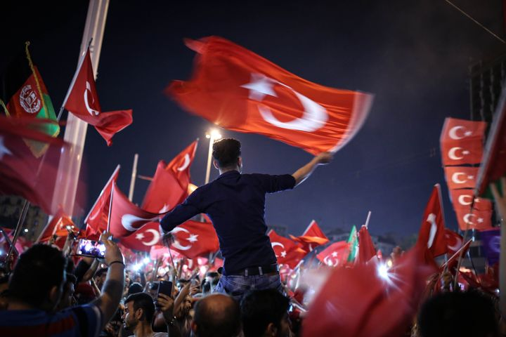 """In one night, Turkey went 20 years back,"" Elif Shafak said of the coup attempt."