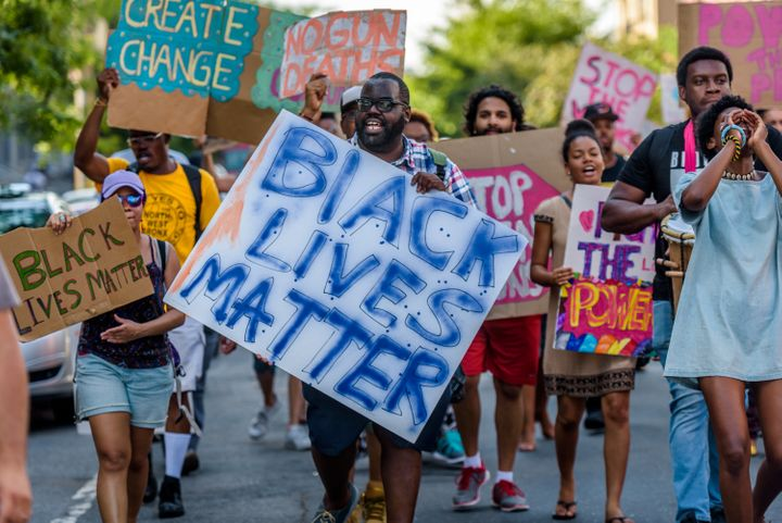 SomeAmericansare concerned that the Black Lives Matter movement has encouraged violence, leading them to sign a p