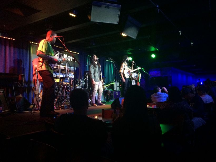 We were lucky enough to catch the Wailers at the Blue Note Waikiki during a recent visit.
