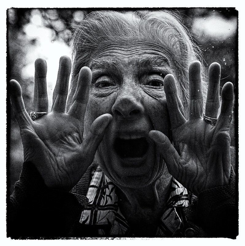 Aging Is Surreal But Fun In These Photos Of An Artist's 91-Year-Old