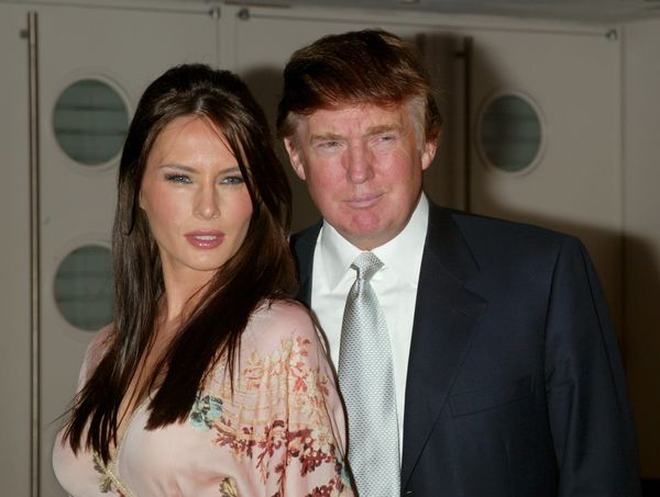 Melania Trump Has Nailed The Same Facial Expression In