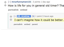 This Reddit Grandpa Has The Answers To All Of Life's Questions