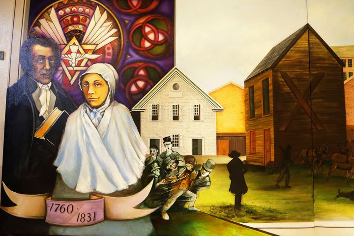 The AME Church was founded by former slaves more than 200 years ago.