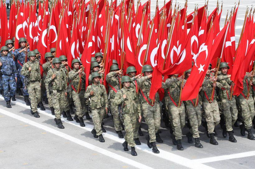 Turkish Military Parade