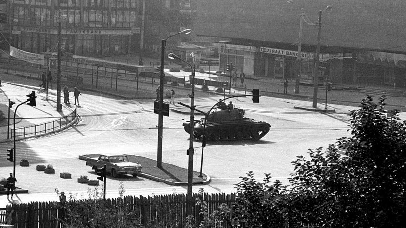 Ankara, shortly after the coup of Sept. 12, 1980