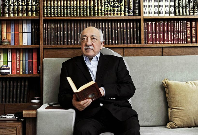 Fethullah Gulen is interviewed at his home in Pennsylvania in 2014.