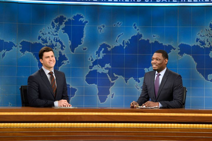"""The""""Weekend Update"""" co-anchorswill present special segments during the conventions. Both men have impressive resu"""