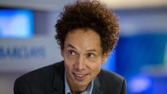Author and columnist Malcolm Gladwell speaks during a Bloomberg Television interview at the Barclays Asia Forum in Hong Kong, China, on Thursday, Nov. 6, 2014. Gladwell said trust is a very easy thing to squander during a discussion on the shift in trust over the last few years between people and governments. Photographer: Jerome Favre/Bloomberg via Getty Images