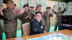 In Show Of Force, North Korea Fires 3 Ballistic Missiles Into The