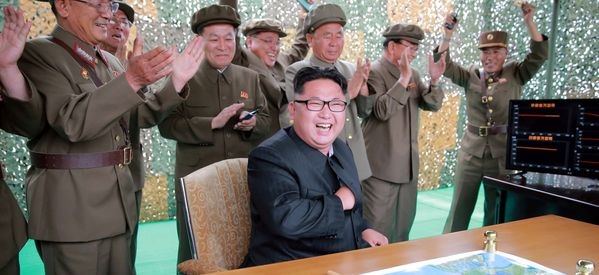 In Show Of Force, North Korea Fires 3 Ballistic Missiles Into The Sea