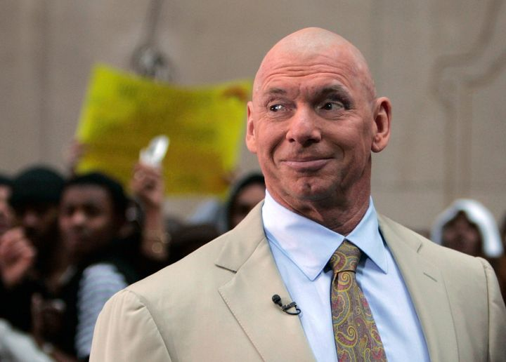 """The WWE andChairman Vince McMahon are accused of intentionally classifying wrestlers as """"independent contractors&"""