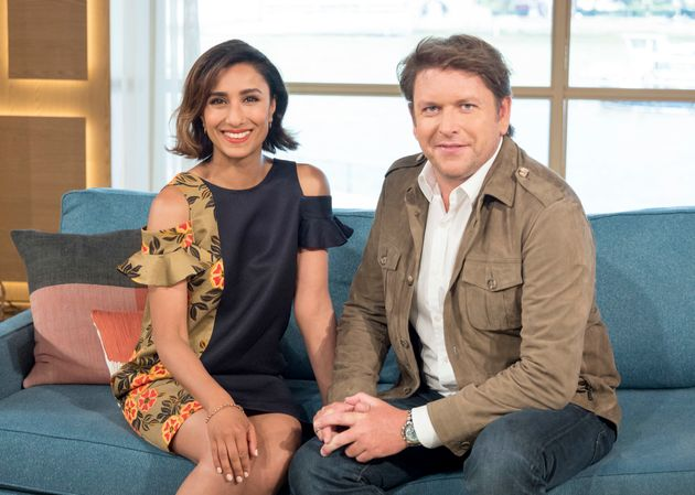 Anita Rani and James