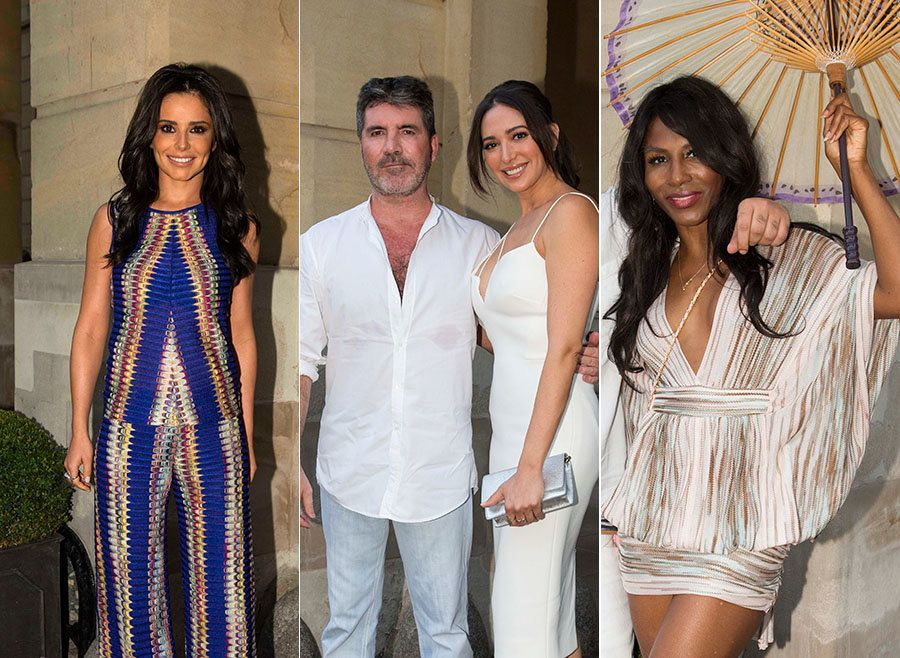 Simon Cowell's Annual Summer Blow-Out Was Typically