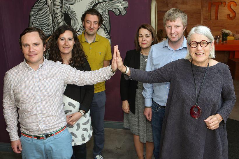 Athrú2016:Dave Murphy, Kai Galway, Darina Allen, Hilary O'Hagan 3FE, Graham Neville Restaurant Forty