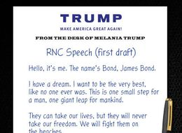 REVEALED: Melania Trump's First Draft Of Her 'Plagiarised' RNC Speech