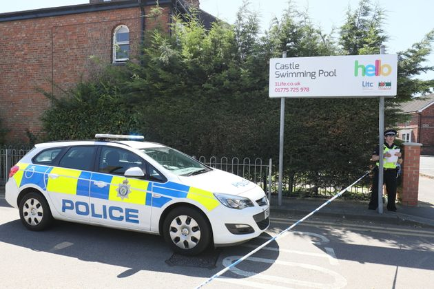 Police were called to the scene at