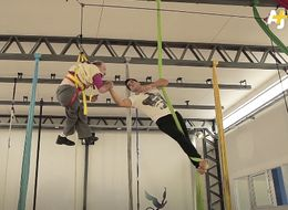 How This Aerial Acrobatics Teacher Is Helping Students With Disabilities