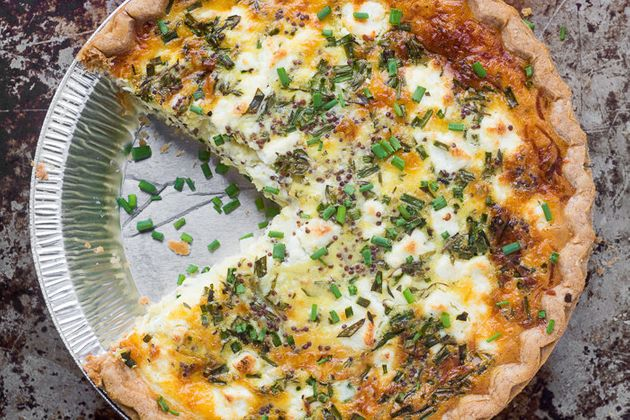 Get the Sweet Onion and Herb Quiche recipe from The View from Great Island and substitute any soft...