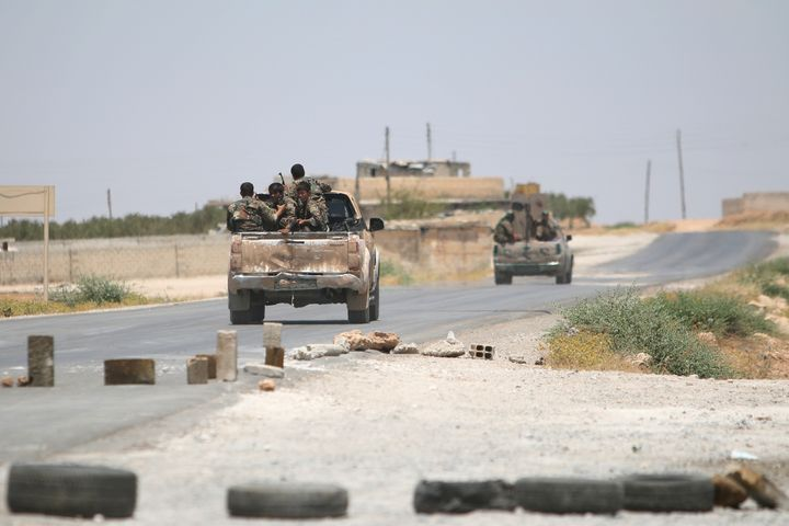 Anattack on ISIS-held territoryin Syria that is believed to have been carried out by U.S.-led warplanes left more