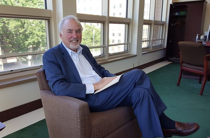 Cleveland State University President Ronald Berkman.
